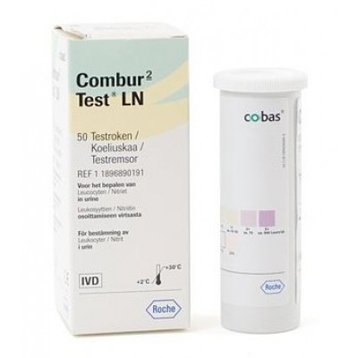 Combur-2 LN urinetest, ( 50 strips )
