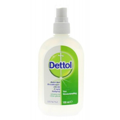 Dettol wondspray 100ml, per flacon