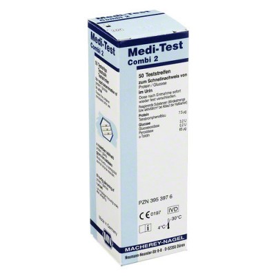 Meditest Combi 2 urinetest, ( 50 strips )