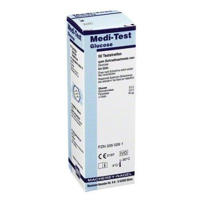 Meditest Glucose urinetest, ( 50 strips )