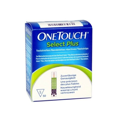 One Touch Select Plus strips, 50 strips